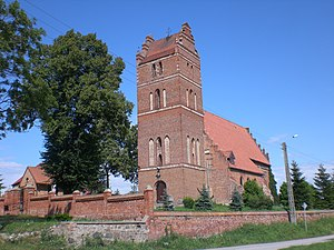 English: Church in Wielki Garc Polski: Wielki ...