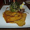 Wiener Schnitzel mit Sardelle in Dresden 1.JPG