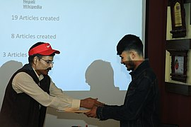 Wikimedians of Nepal Event 2018-06-24 (42).jpg