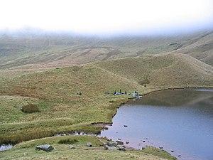 Llyn Cwm Llwch - Wild camping at Llyn Cwm Llwch