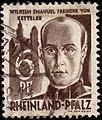 Wilhelm Emanuel Freiherr von Ketteler - 6 pf. - 1948.jpg