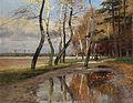 Wilhelm Schroeter Reiter unter herbstlichen Bäumen 1903.jpg