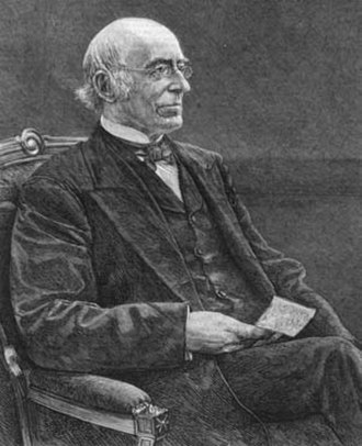 William Lloyd Garrison - William Lloyd Garrison, engraving from 1879 newspaper