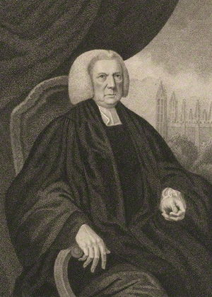 William Cooke (Provost of King's College) - William Cooke, 1798 engraving by Sylvester Harding