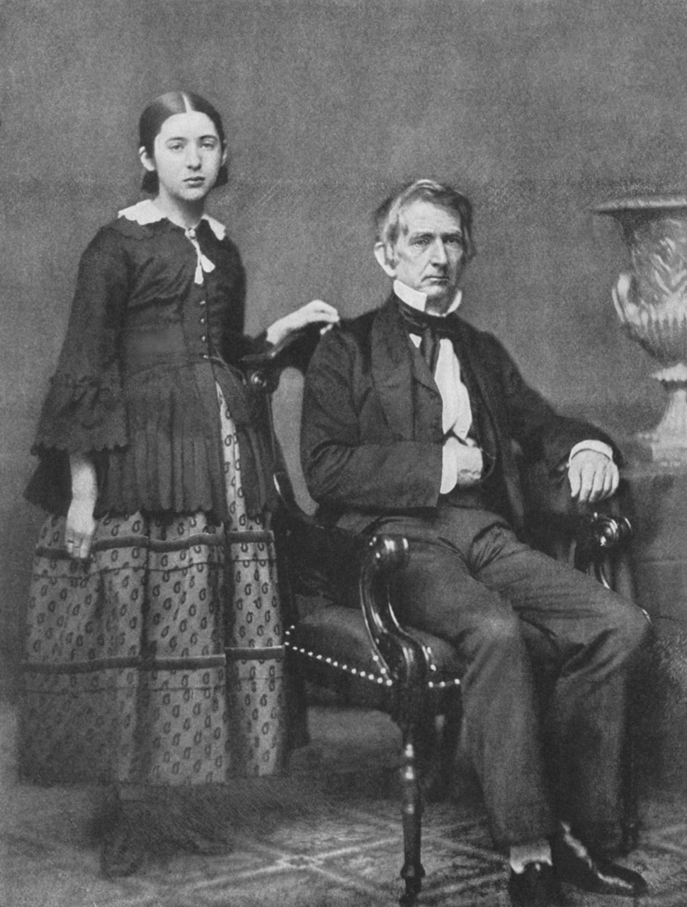 William Seward and Daughter Fanny