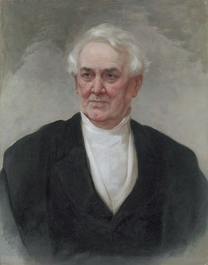 William Wilson Corcoran - Portrait by William Oliver Stone