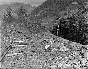 Hardanger Line - Construction during 1927
