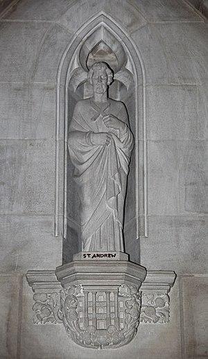 Saint Andrew's Day - Saint Andrew as patron saint of Scotland.