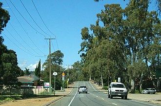 Happy Valley, South Australia - Western end of Windebanks Drive