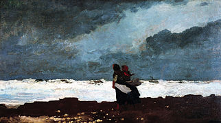 Winslow Homer - Two Figures by the Sea.jpg