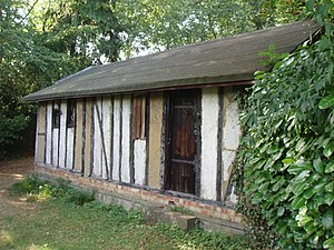 Bricket Wood coven - The Witches' Cottage in 2006.