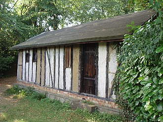 History of Wicca - The Witches Hut in 2006.