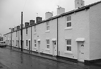 Bamber Bridge - Image: Withy Trees Mill Cottages, Withy Trees Road, BB