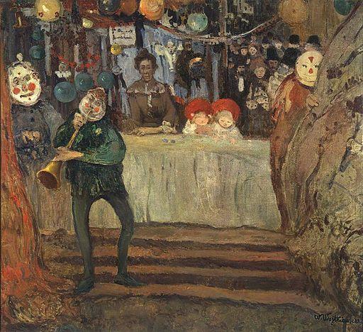 Witold Wojtkiewicz the circus