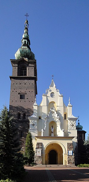 Wojkowice - Church of Saint Anthony of Padua in Wojkowice