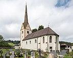 Wolfsberg Aichberg Filialkirche hl Bartholomaeus mit Friedhof 26082015 7019.jpg