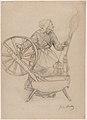 Woman at the Spinning Wheel MET DP878719.jpg