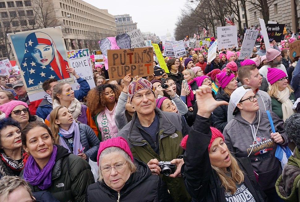 Women's March, Washington, DC (31657219403)