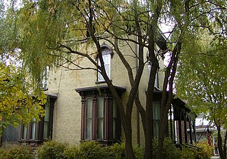 Marcy-Holmes, Minneapolis - Image: Woodbury Fisk House