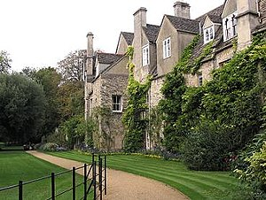 Gloucester College, Oxford - Medieval cottages, now part of Worcester College