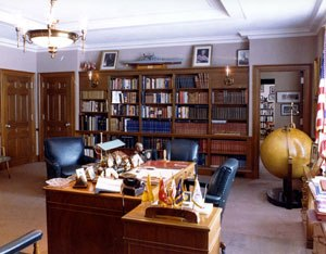 Harry S. Truman Presidential Library and Museum - Truman's office on the premises