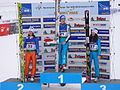 World Junior Championship 2010 Hinterzarten - Mattel Runggaldier Hendrickson Podium 222.JPG