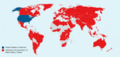 World map of international trips made by Hillary Clinton as United States Secretary of State.png