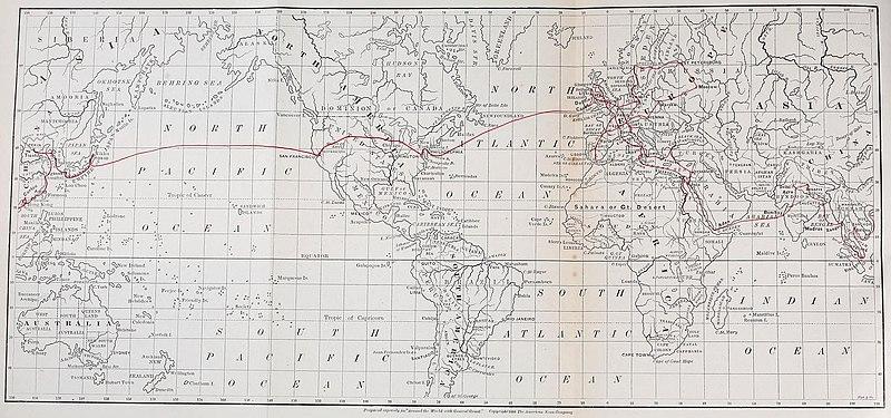 World tour of Ulysses S. Grant
