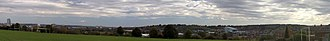 Wortley, Leeds - Views from Wortley Recreation Ground including Bridgewater Place, Beeston and Elland Road