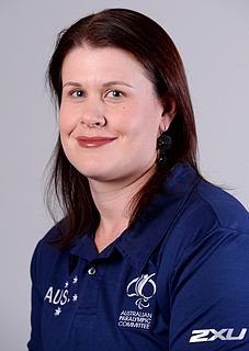 Rosemary Little Australian Paralympic athlete