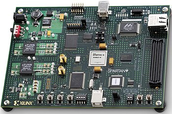 Xilinx S6-SP601 board
