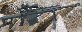 Barrett XM109 - Image: Xm 109 2