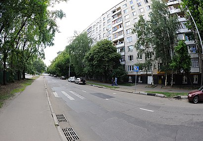 How to get to Яхромский Проезд with public transit - About the place