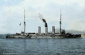 Japanese cruiser Yakumo - Image: Yakumo 1905