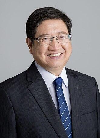 Hsinchu County - Yang Wen-ke, the incumbent Magistrate of Hsinchu County