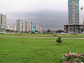 Yasenevo District - Yasenevo near metro, Yasenevo District