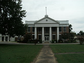Dardanelle, Arkansas - Yell County Courthouse in downtown Dardanelle