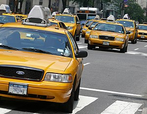 Access economy - Yellow cabs in Manhattan have experienced decreased demand due to Uber