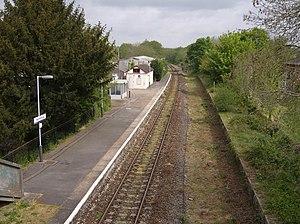 Yetminster railway station - Image: Yetminster Railway Station