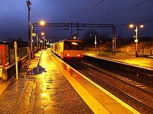 Yoker railway station - Image: Yoker railway station