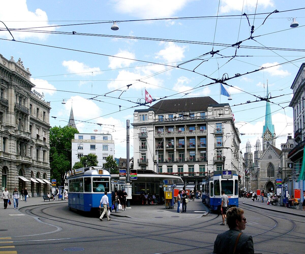 Paradeplatz zurich wikip dia for Piscine zurich