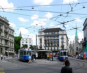 Image illustrative de l'article Paradeplatz (Zurich)