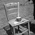 Za uroke pripravljeni pr, oglje, uvela, kruh s šio, Lapajne, Vojsko 1959.jpg