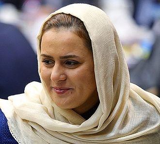 Zahra Nemati - Zahra Nemati in 43rd N.O.I.C General Assembly