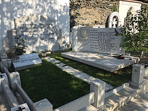 Zahrad - Zahrad's tomb at the Şişli Armenian Cemetery in Istanbul