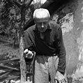 Zdravljenje grla s figo in slino, Skomarje 1963.jpg