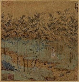 Zhao Mengfu - Image: Zhao Mengfu. Self Portrait. 1299, Album leaf. Palace Museum Beijing