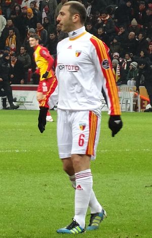 Zurab Khizanishvili - Khizanishvili playing for Kayserispor