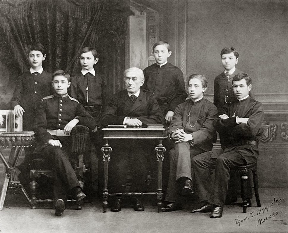 Zveref and students