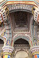 """""""Amazing traditional artistic roof construction in Thanjavur Palace"""".JPG"""